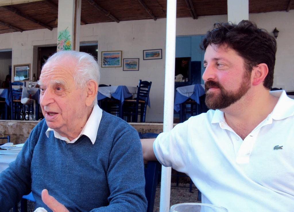 """""""Albertico"""" Israel e Roberto Coaloa. Rodi. Ottobre 2012."""