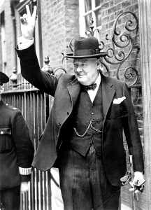 Sir Winston Leonard Spencer Churchill (Woodstock, 30 novembre 1874 – Londra, 24 gennaio 1965).