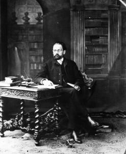 Émile Zola (1840-1902) in una celebre fotografia di Nadar.