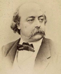 Gustave Flaubert (1821-1880).