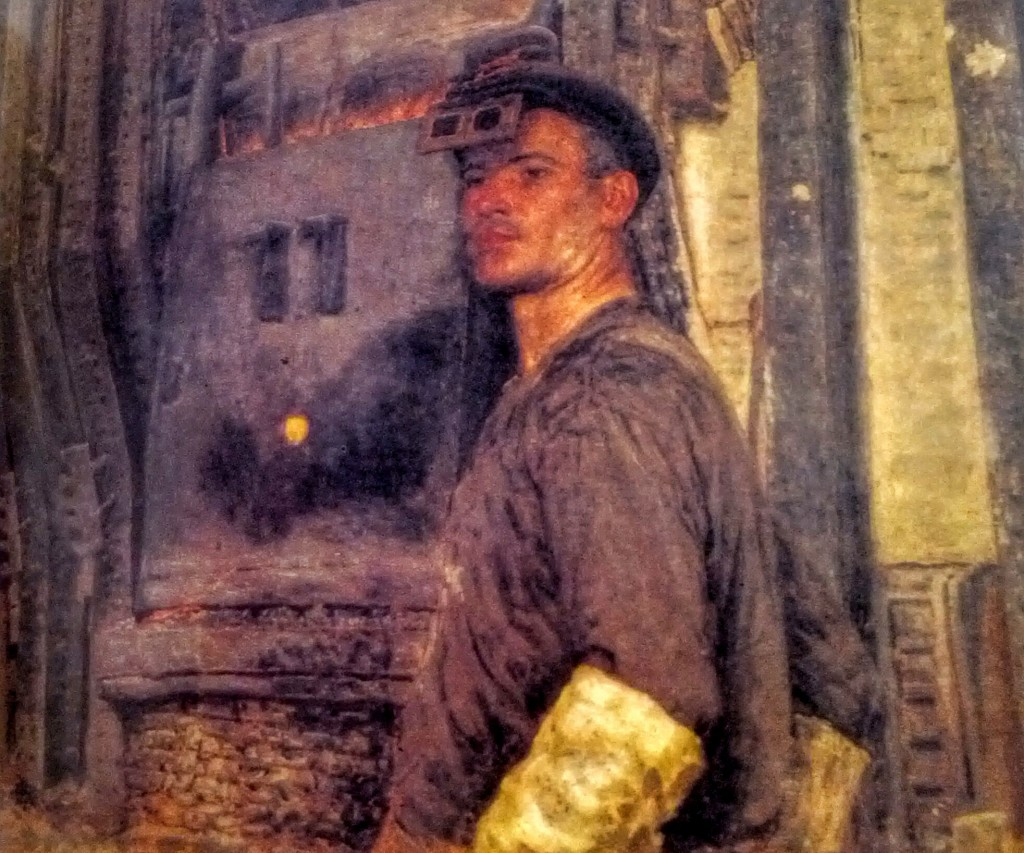"""Gavriil Gorelov, """"Ritratto di A. Subbotin"""" (1949). Mosca, Galleria Tretjakov."""
