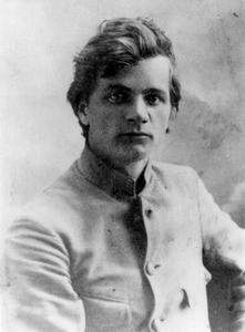 Andrej Platonov a Voronež nel 1922.