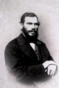 Л. Н. Толстой, 1862. Фотография М. Б. Тулинова. Москва.