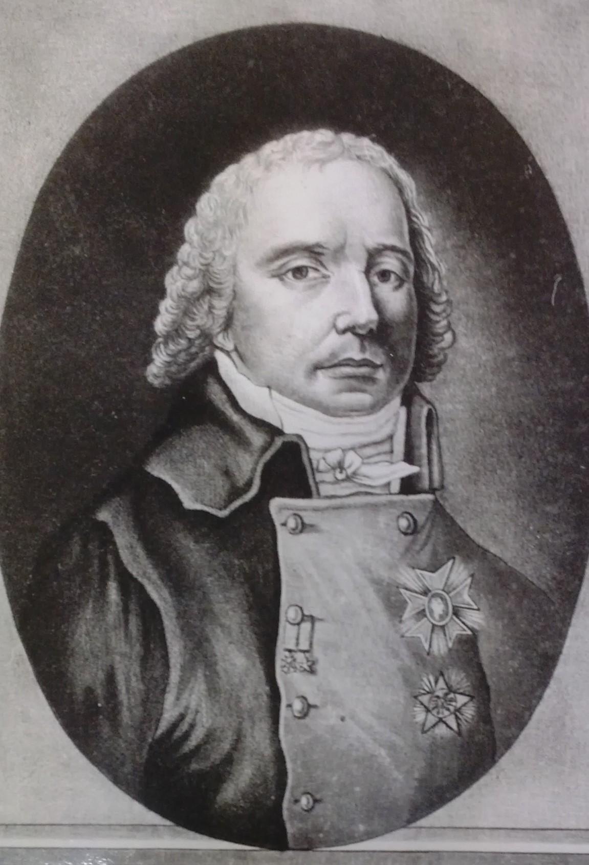 Charles-Maurice de Talleyrand-Périgord, Principe di Benevento (Parigi, 2 febbraio 1754 – Parigi, 17 maggio 1838). Gravure à l'eau-forte. Colleziona privata.