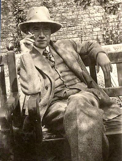 André Gide (1869-1951), nel 1920, in uno scatto di Ottoline Morrell.