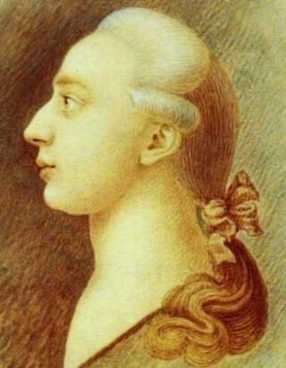 Un ritratto coevo di Giacomo Girolamo Casanova, nato a Venezia, il 2 aprile 1725, morto a Dux, l'odierna Duchcov, il 4 giugno 1798. Casanova è stato un incommensurabile avventuriero, un raffinato scrittore in lingua francese, poeta, alchimista, diplomatico, filosofo, spia e tante altre cose ancora.
