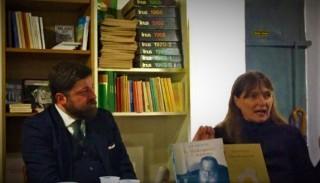 Milano. Libreria Utopia. Domenica 20 novembre 2016. Roberto Coaloa e Margherita Crepax.