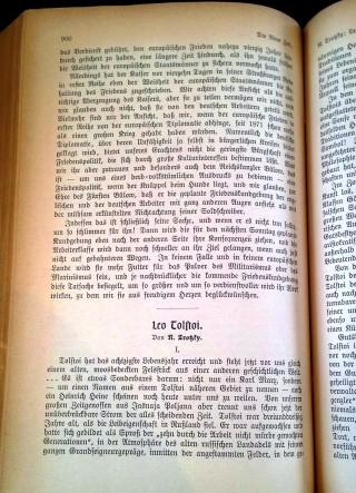 Saggio di Lev Trockij su Tolstoj. 1908 (Milano. Fondazione Feltrinelli).