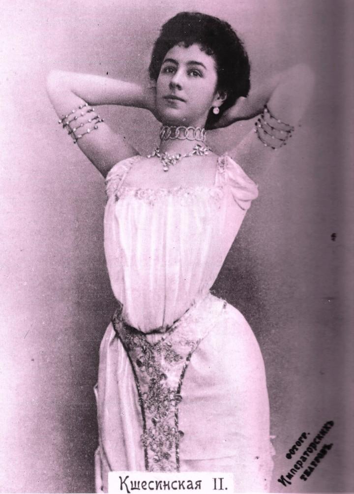 La ballerina amante del futuro zar Nicola II