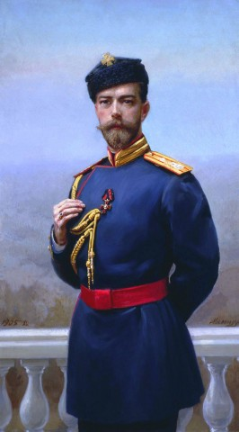 Lo zar Nicola II (1868-1918).