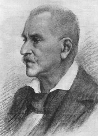 Jacob Burckhardt nel 1895.
