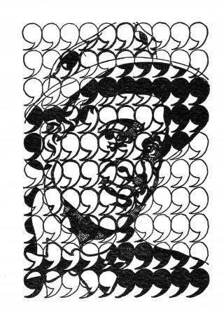cent virgules / Eines Hundert Virgeln by Stanley Chapman, London edited by Verlag Klaus G. Renner