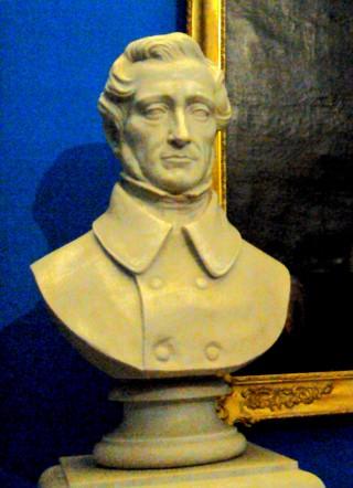 Il conte Cesare Balbo. Da una scultura al Museo Nazionale del Risorgimento italiano di Torino. Giugno 2011.