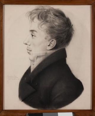 Carlo Vidua ritratto da Étienne Bouchardy (1797-1849) a Parigi nel 1825. Museo Civico di Casale Monferrato.