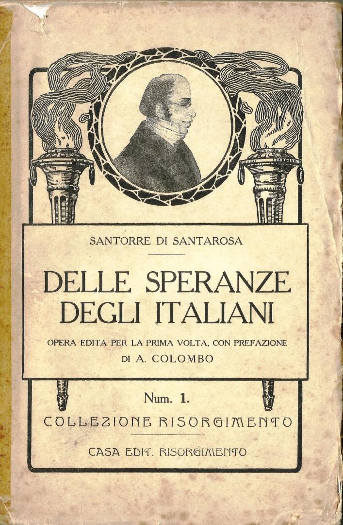 Delle speranze degli italiani